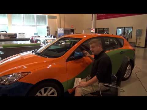 Now That's A Vehicle Wrap! Intro To Car Wraps