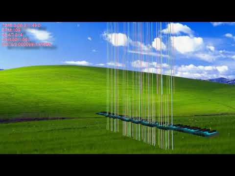 [BlackMIDI]Music Using Only Sounds From Windows XP & 98 - SomethingUnreal - Blacked by KF2015