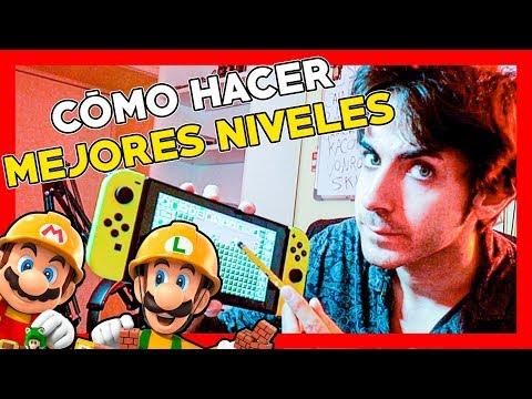 CÓMO HACER o CREAR BUENOS NIVELES DE SUPER MARIO MAKER 2. Consejos. Guía.