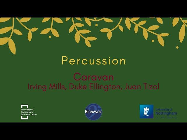 🐣 Percussion, Caravan