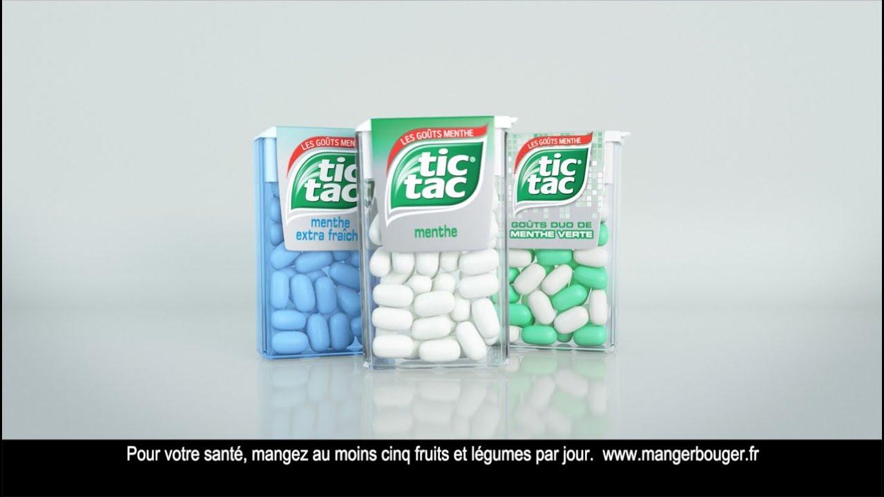 Tic Tac Menthe - Publicité 2015 - YouTube