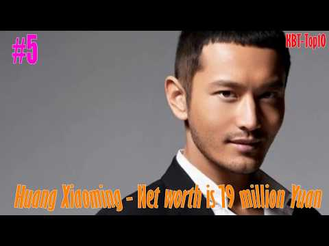Top 10 Richest celebrities of China