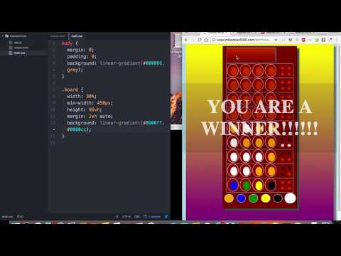 HTML CSS JavaScript jQuery Project based Tutorial  - Mastermind Game Part 1