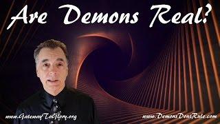 ARE DEMONS REAL? - Do I Have Demons? - Harold Vega Vondenstein