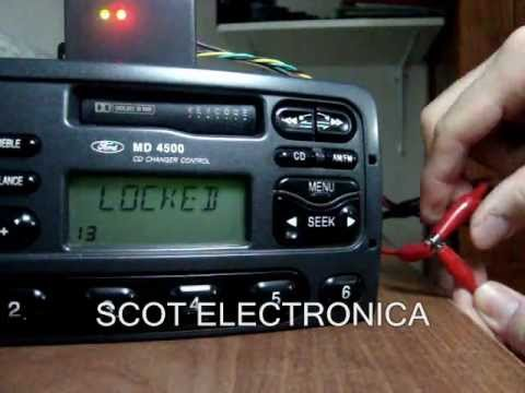 desbloquear con resettool estereo de ford fic visteon en lock 13