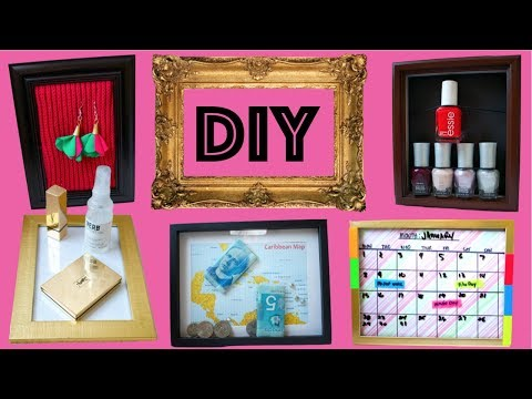 10 CLEVER WAYS DIY Picture Frame Project Ideas You Want To TRY NEXT!