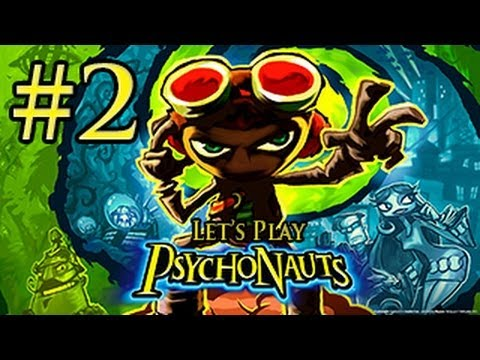 PsychoNauts Gameplay Walkthrough | Part 2 | CROSSING THE BATTLEFIELD!
