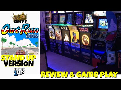 ARCADE1UP OUTRUN STANDUP VERSION REVIEW from GameMom77