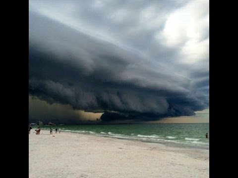 Hurricane Matthew: North Bay Village in Miami-Dade on Thursday.