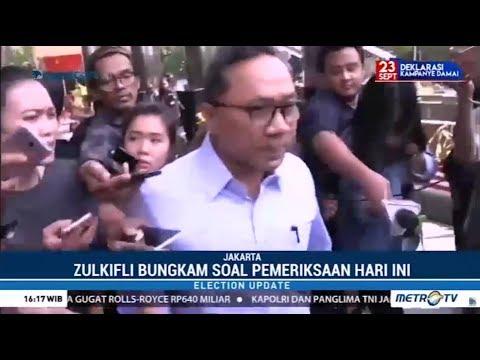 Dianggap KPK Tahu, Zulkifli Hasan Bungkam Saat Ditanyai Kasus Adiknya