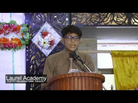 Laurel Academy Celebration (Urdu Speech By Ali) 10