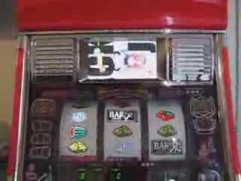 Japanse slot machine station