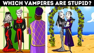 Vampire Riddles + Logic Puzzles That'll Improve Your Brain!