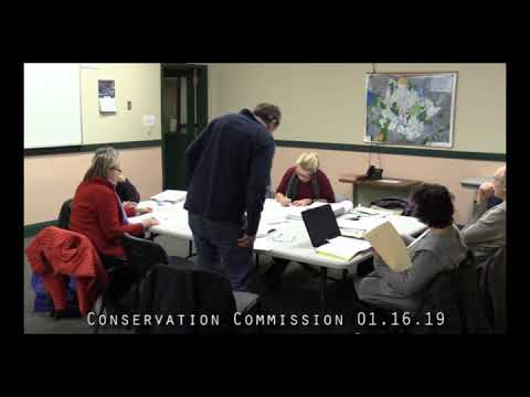 Conservation Commission 01.16.19