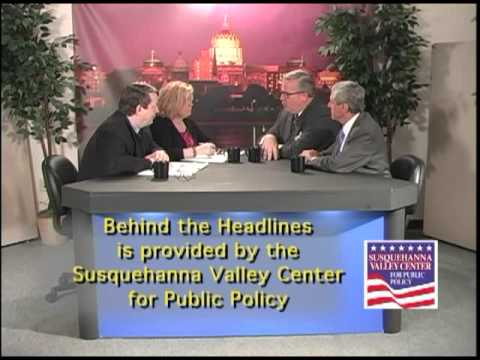 Behind the Headlines April 16, 2012 Susquehanna Valley Center for Public Policy