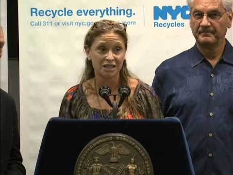 Mayor Bloomberg Launches 'Recycle Everything' Ad Campaign & Expansion of Organic Food Recycling