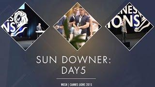 Cannes Sundowner Day 5