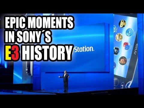 Epic Moments in Sony's E3 History (1995-2013)
