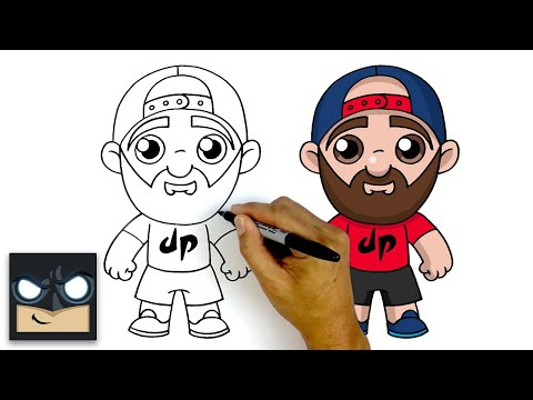How To Draw Tyler | DUDE PERFECT