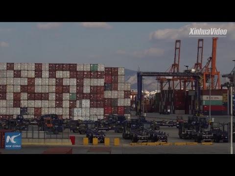 Greece's Piraeus port enters new era with increasing handling capacity