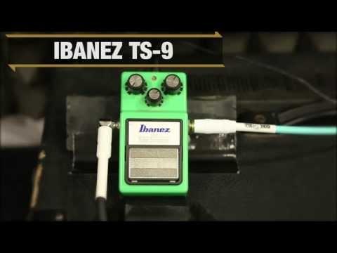 Ibanez Overdrives Demo - TS9, TS80835TH, TS808DX - Metal | GEAR GODS