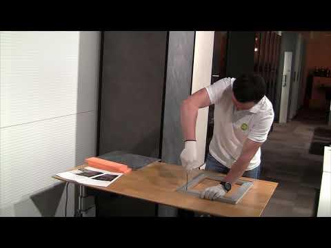 Сборка мебельного рамочного фасада из алюминиевого профиля Laconic