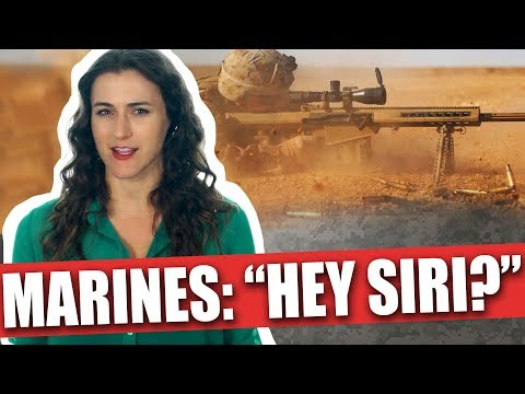 Marines called customer service for help in a firefight