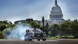 Precision Driver Rhys Millen Takes on Washington, DC - Red Bull Global Rallycross 2014