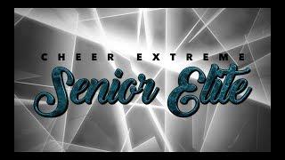 Cheer Extreme Senior Elite 2018-19