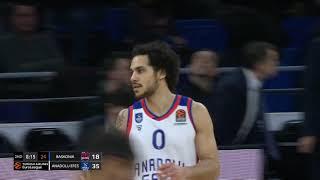 07.12.2019 / KIROLBET Baskonia - Anadolu Efes / Shane Larkin