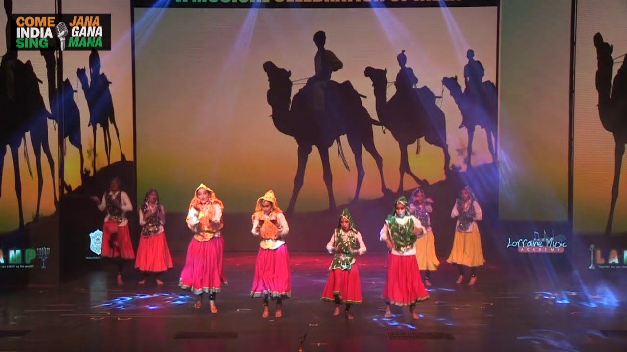 Folk Dance Medley (Haryanvi & Rajasthani) by students of Paramlakshya World  School
