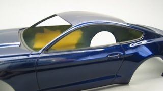 Revell:2015 Ford Mustang GT Part 7 Airbrushing window rubbers