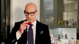 Stanley Tucci - Special Christmas Cocktail | Xmas cosmo