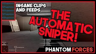 THE AUTOMATIC SNIPER! BEST GUN!?! Phantom Forces ROBLOX