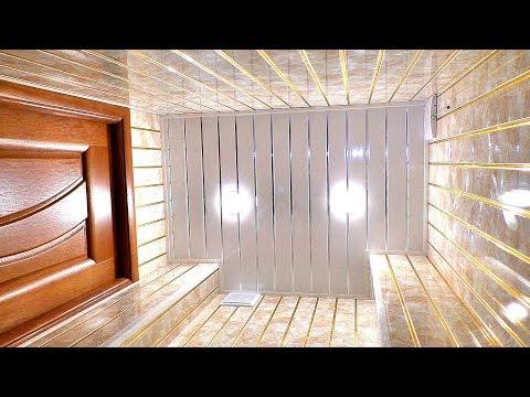 Как обделать туалет в квартире пластиковыми панелями