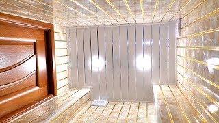 Отделка туалета за 1 день пластиковыми панелями. Недорогой ремонт туалета своими руками