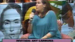 Entrevista a Any Carmona en Canal Milenium, Salta, 02/03/18