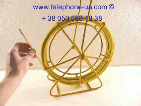 видео: УЗК-3-30 мини для протяжки кабеля, кабельная протяжка (стеклопруток) в мини узк-3-30