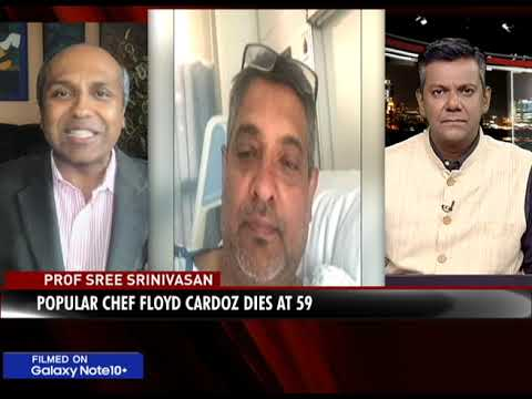 sree-sreenivasan-tv-interview-on-the-death-of-chef-floyd-cardoz