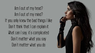 Bad Things - Machine Gun Kelly, Camila Cabello (Lyrics)