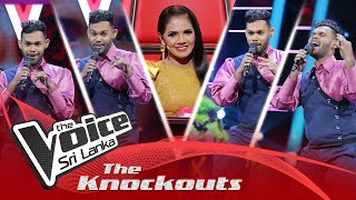 Geeth Madhusanka | Ameesha (අමීෂා) | The Knockouts | The Voice Sri Lanka Thumbnail