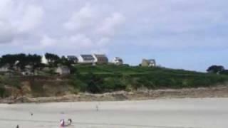 Visite virtuelle de la station balnéaire de Trevou Treguignec en Bretagne par Nevisto.