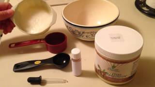 Shea Body Butter DIY Recipe-Coconut oil Moisturizer with Lavender by Blue Planet Organics