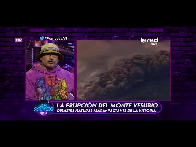¿Cómo fue la erupción del Vesubio?