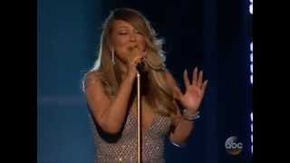 Idina Menzel (Adele Dazeem) praises Mariah Carey