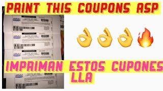 Print this coupons ASP / impriman estos cupones lla 😉😉