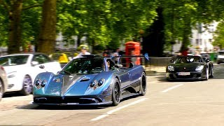 The biggest wing in London on the $3Million PAGANI ZONDA 760 by Mileson!