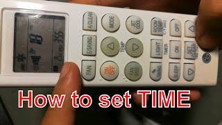 Comment régler le minuteur sur off et minuteur de veille sur le LG ac contrôleur à distance