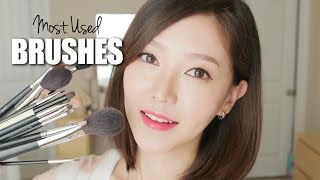 Favorite Makeup Brushes 2014 ♥ 메이크업 브러쉬 Thumbnail