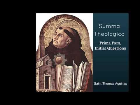 Summa Theologica, Prima Pars, Initial Questions (Thomas Aquinas)